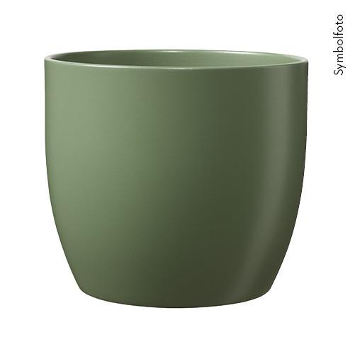 Topf Basel Moosgrün